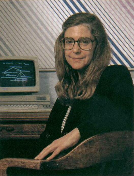 Margaret Hamilton nel 1989