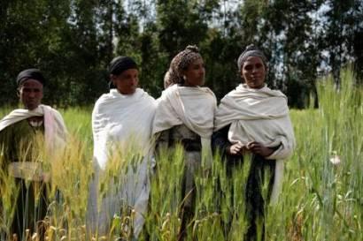 Contadine di Geregera (Amhara). Foto di Matteo Dell'Acqua