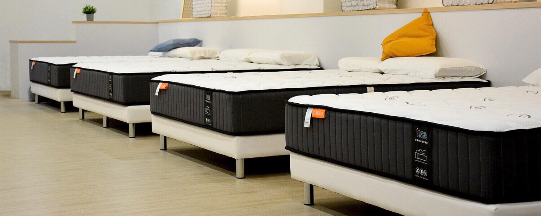 橘家床墊有5種不同軟硬度