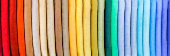 色彩鮮豔的布