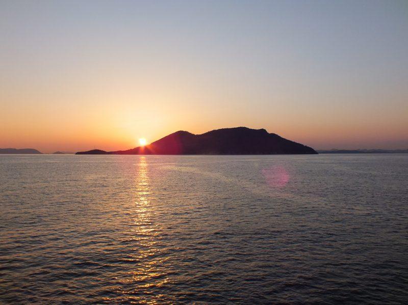 52 - Coucher de Soleil sur Ogijima