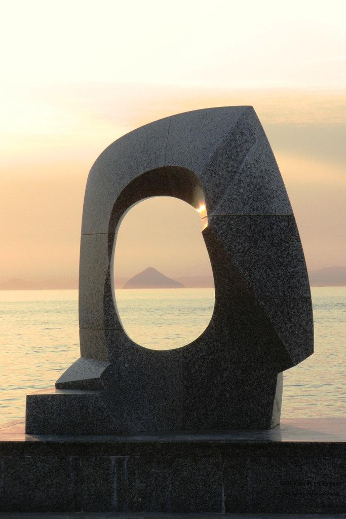 Sculpture au Sunport de Takamatsu
