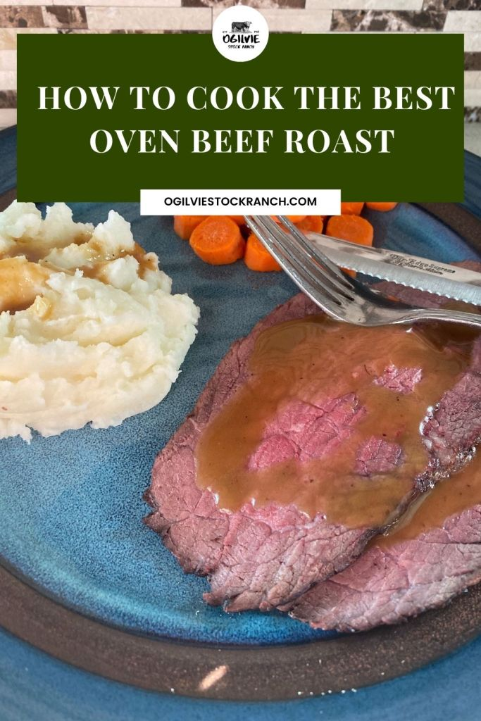 How to Cook the Best Oven Beef Roast. #beefroast #ovenroast #roast