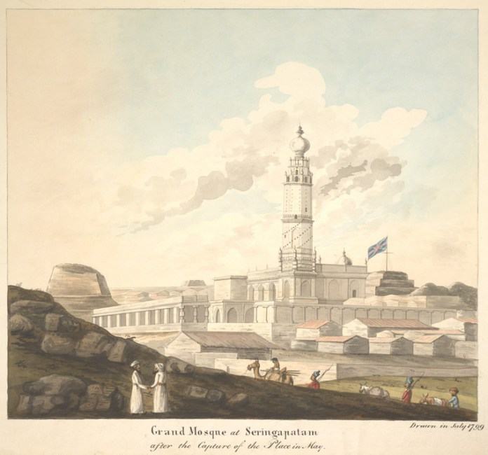 In Paintings: 8 Beautiful Mosques of India | The Heritage Lab