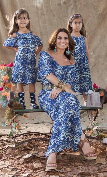 Em família: Famosas posam com filhas em campanhas e revistas de moda -  Jornal O Globo