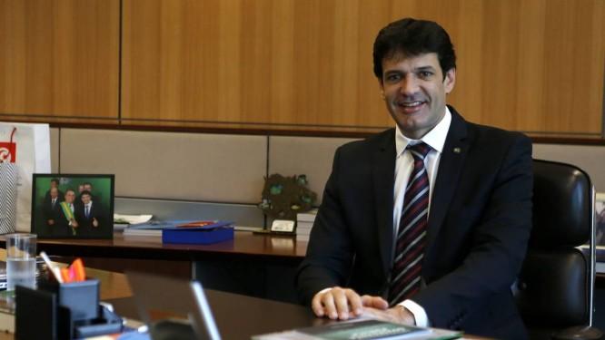 O ministro do Turismo, Marcelo Álvaro Antônio, foi exonerado do cargo Foto: Jorge William / Agência O Globo 16/01/2019