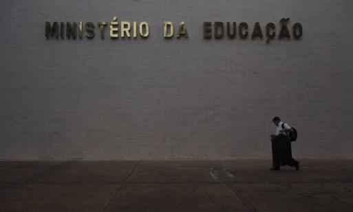 Fachada dos prédio do Ministério da Educação em Brasília Foto: Daniel Marenco / Agência O Globo