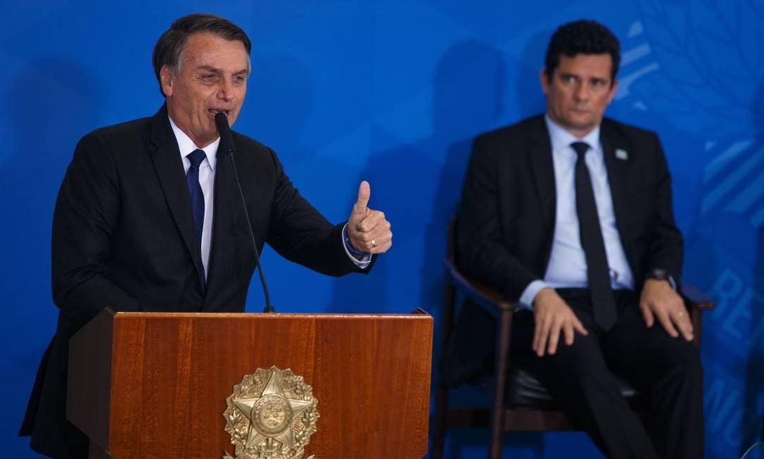 Bolsonaro diz que vai indicar Sergio Moro para o Supremo Tribunal Federal