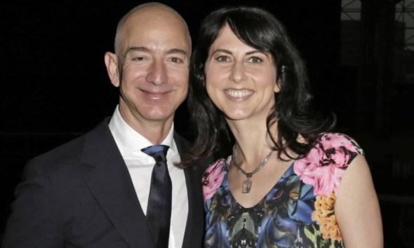 MacKenzie se divorciou de Jeff Bezos no início do anoFoto: Bloomberg