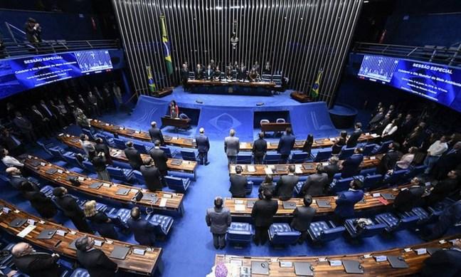 Plenário do Senado Federal Foto: Edilson Rodrigues / Agência Senado