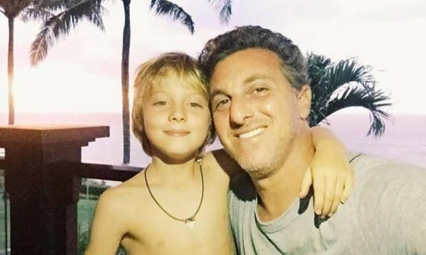 Huck and Benício Photo: Instagram