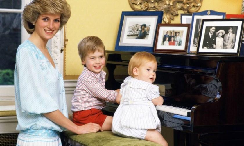 Diana, William and Harry (right) Photo: Tim Graham/Tim Graham Photo Library via Get