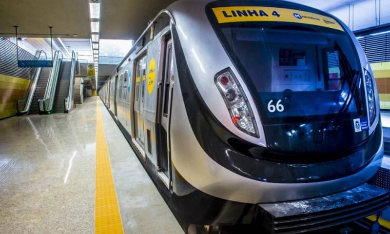 MetrôRio: ao todo, 158 mil bilhetes estarão à venda Foto: Metrô Rio / Divulgação