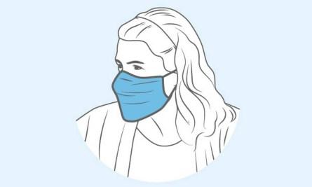 Saiba como fazer sua própria máscara e os cuidados para se proteger Foto: Editoria de Arte