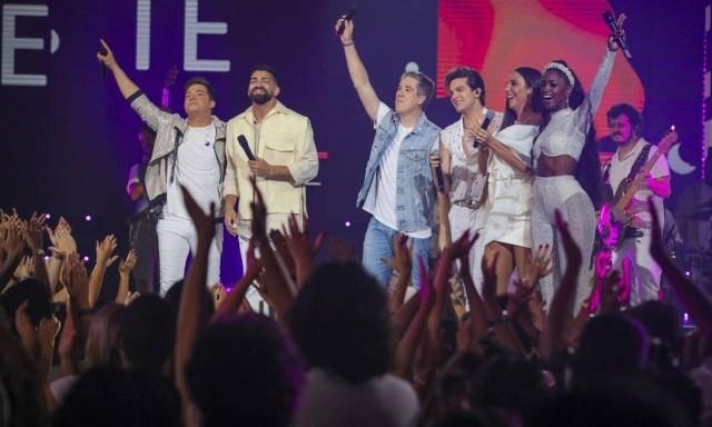 Show da virada terá Wesley Safadão, Dilsinho, Jota Quest, Luan Santana, Ivete Santalo e IZA Foto: Divulgação/TV Globo/Paulo Belote