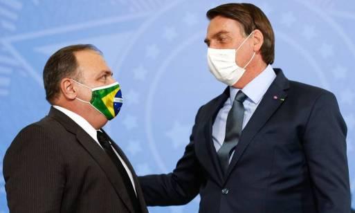 Bolsonaro avalia cargo para manter Pazuello no governo - Jornal O Globo