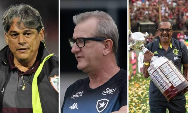 Marcelo Veiga, Renê Weber and Jorginho were some of the victims of Covid-19 Photo: Photo montage