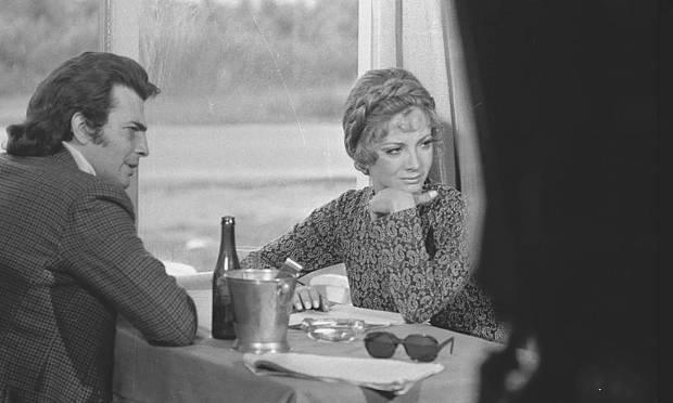 Tarcísio Meira and Glória Menezes in the soap opera 'The Man Who Must Die', in 1971 Photo: Arquivo O Globo