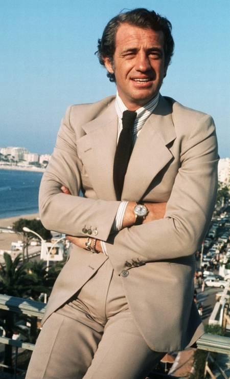 Jean-Paul Belmondo, Cannes, 1974 Photo: - / AFP