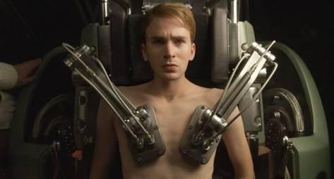 O monomito de Campbell. Steve Rogers (Capitão América) em Capitão América: O Primeiro Vingador (2011)