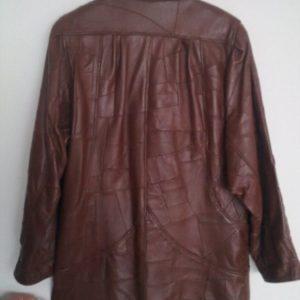 Kožna jakna (100% koža, XL)