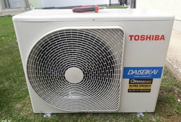 AKCIJA-Toshiba klima Super Daisaikai 8 INVERTER-Elektromont Banja Luka 065 566 141