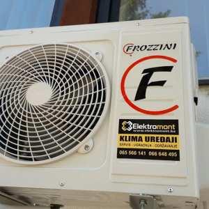 AKCIJA-Klima Frozzini 12 NOVI MODEL 2019/20 cijana sa ugradnjom 660 KM Elektromont Banja Luka 065 566 141