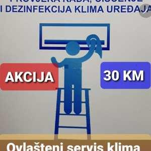 -25%Dezinfekcija i čišćenje klima 30 KM Elektromont 065 566 141 Banjaluka