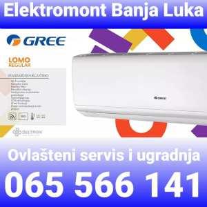 AKCIJA-Klima Gree 12 Regular -22°C A++ Wi-Fi sa ugradnjom 1100 KM Elektromont Banja Luka 065 566 141
