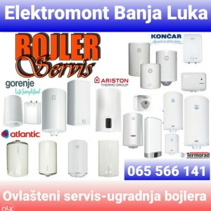Ovlašteni servis-ugradnja bojlera Elektromont Banja Luka 065-566/141 HITNE INTERVENCIJE
