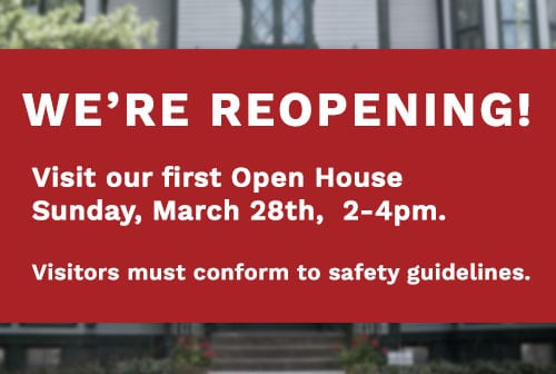 We're Reopening March 28