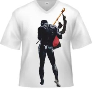 Camiseta: El gaitero