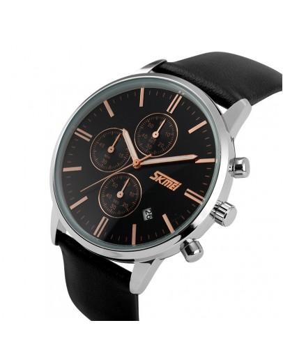 Черен мъжки часовник