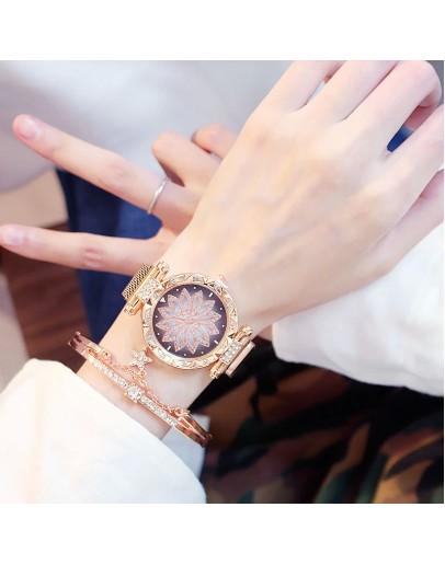Златист дамски часовник