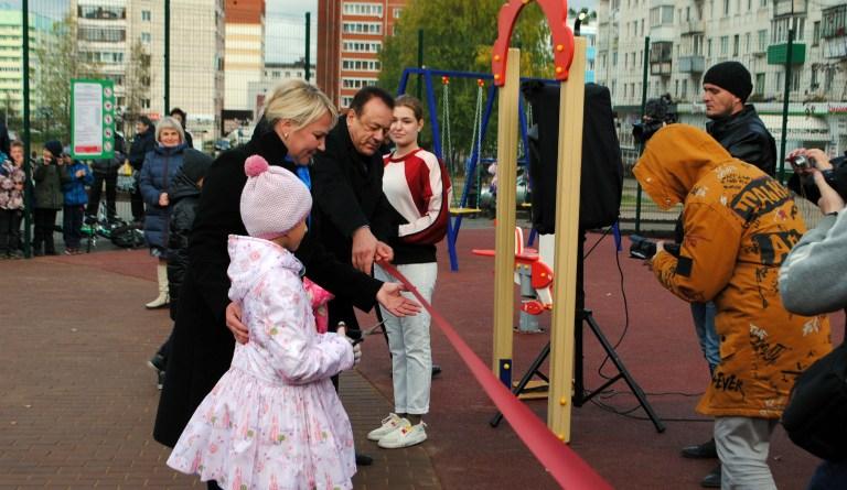 Сквер на Заре открыт для отдыха горожан и гостей Чайковского