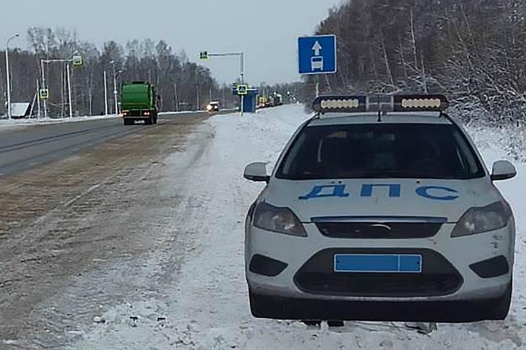 На автодороге Воткинск-Чайковский появится макет автомобиля ДПС