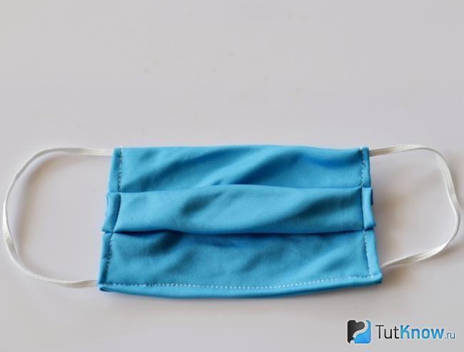 Как сшить защитную повязку самостоятельно