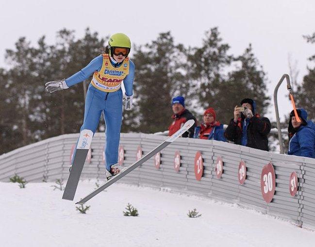 Летающая лыжница из Чайковского – призёр «Рождественского турне»