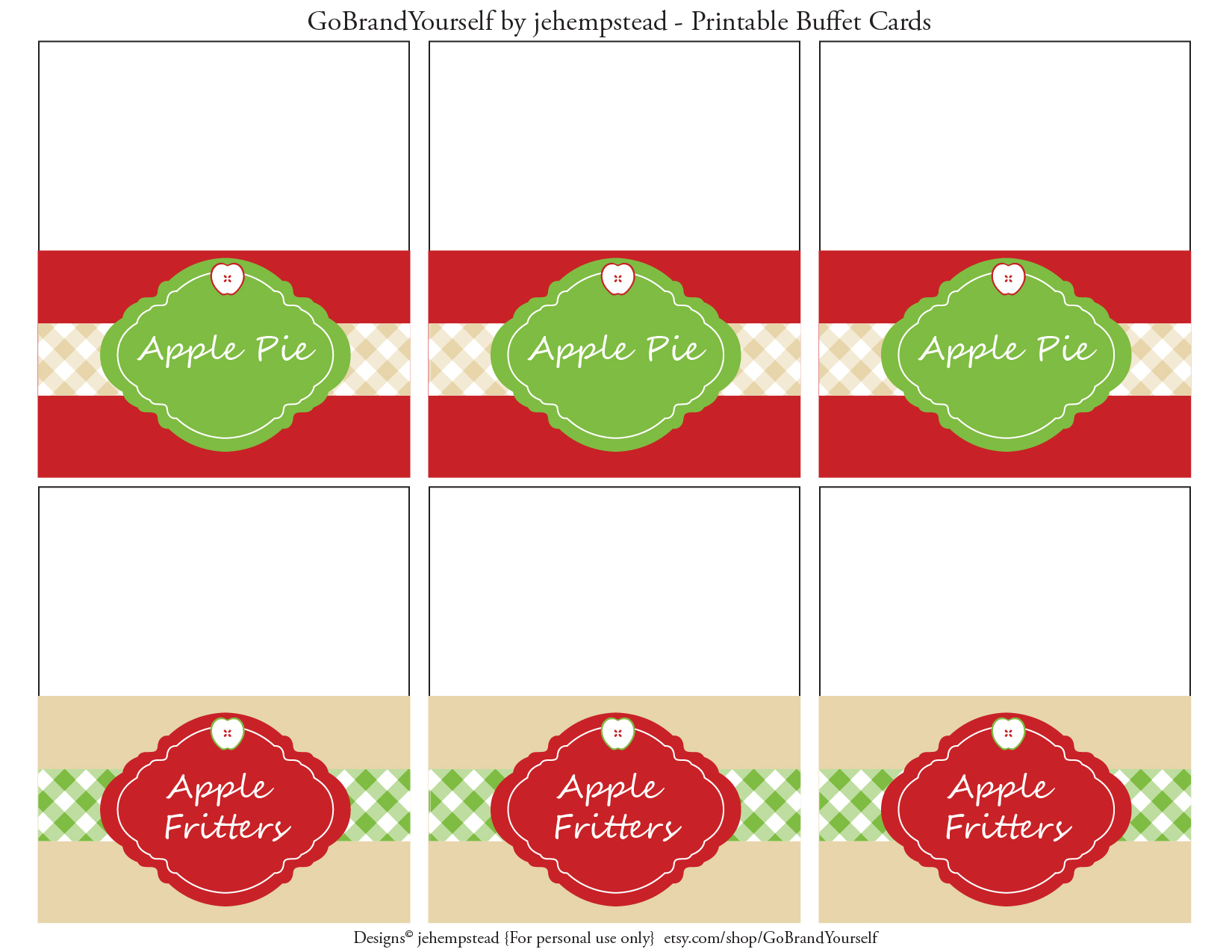 Apple Party Favorites Free Apple Printables