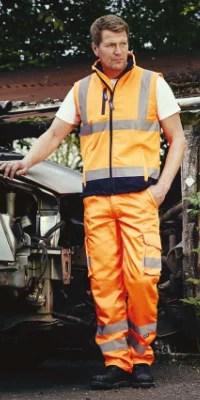 ensemble orange haute visibilité