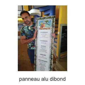panneau alu dibond personnalisable ografX