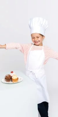 tablier toque cuisine enfant
