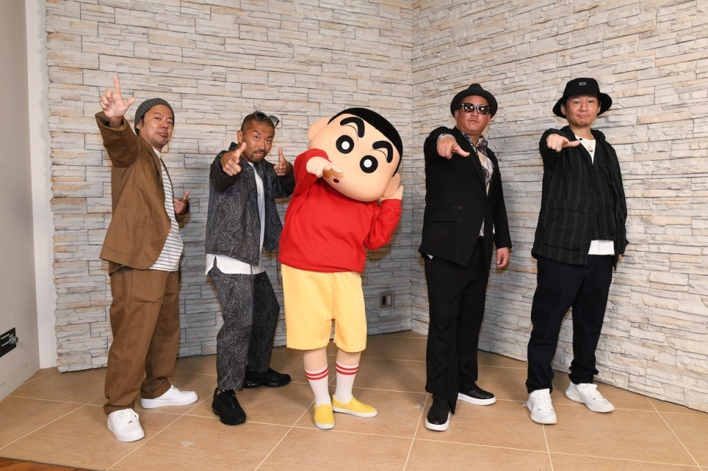'Ketsumeishi' Performs Crayon Shin-chan Anime's New Opening Song
