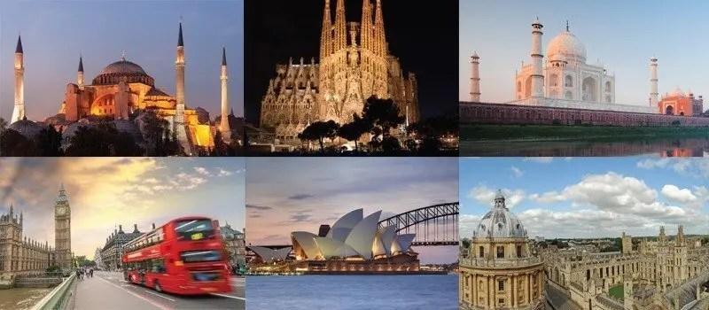 Dünyanın En Etkileyici 20 Mimari Yapısı