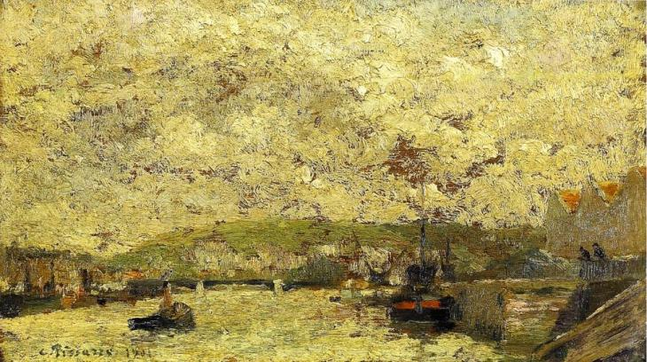 Camille Pissarro The Seine At Rouen