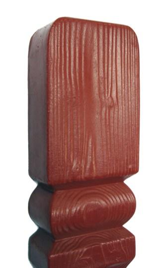 Tralka drwnopodobna ceglasta