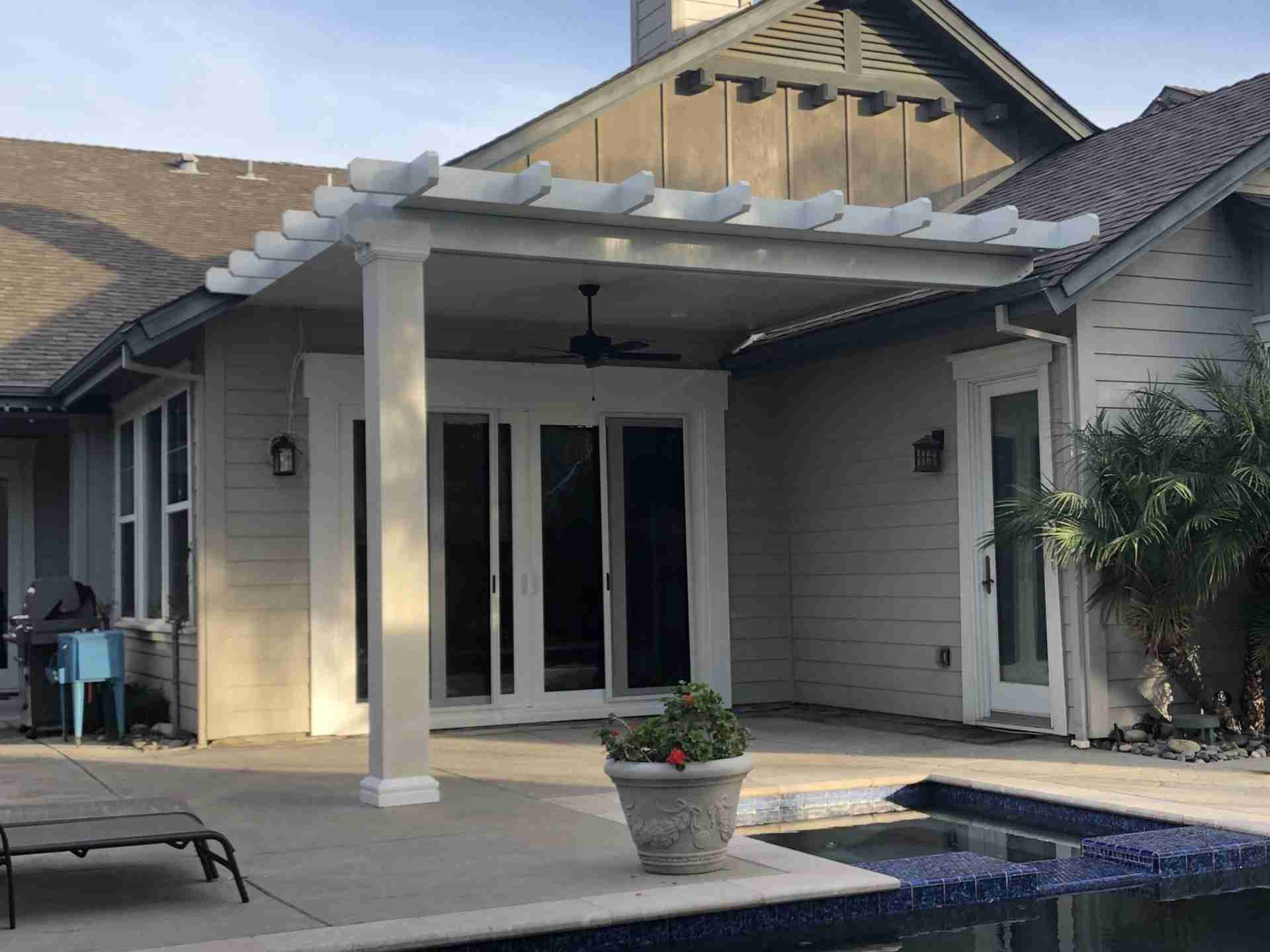 detached solid alumawood patio covers