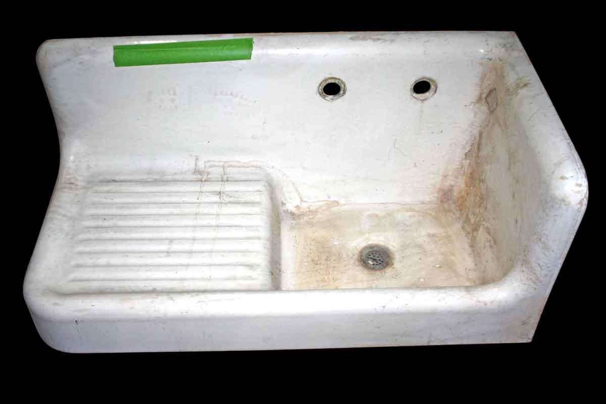 Sink With Drain Board Olde Good Things