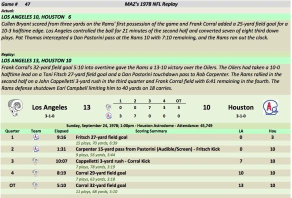 Game 47 LA at Hou
