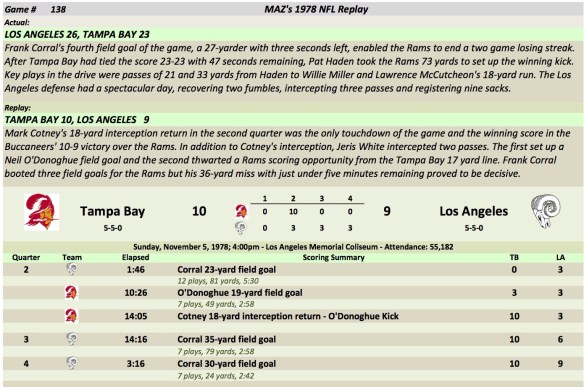 Game 138 TB at LA